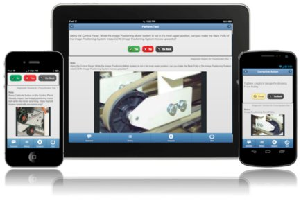 TEAMS-PackNGo in iPhone, iPad and Android.